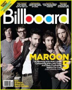 "Maroon 5 уже почти два месяца лидируют в чарте ""Billboard"""