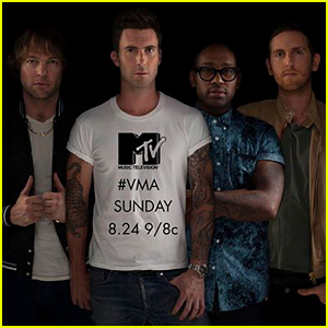 Maroon 5 первый раз выступят на MTV VMA's